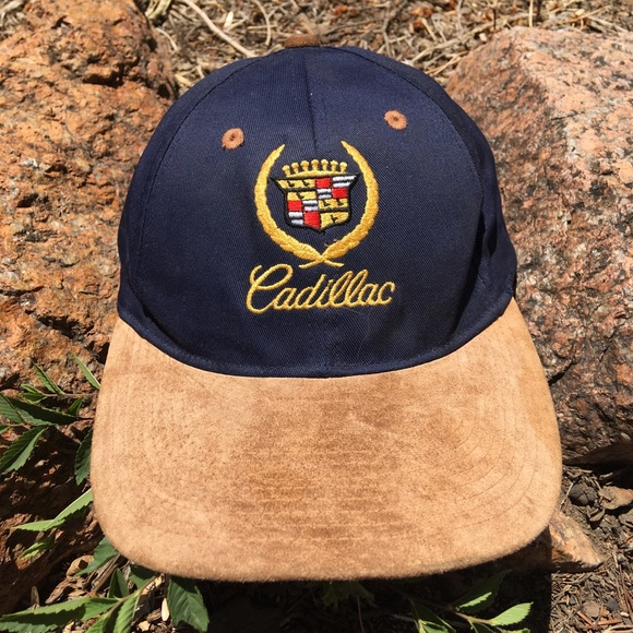 Vintage 90s Cadillac Adjustable Hat b875bf2478b0